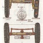 Передня вісь універсально-просапного трактора